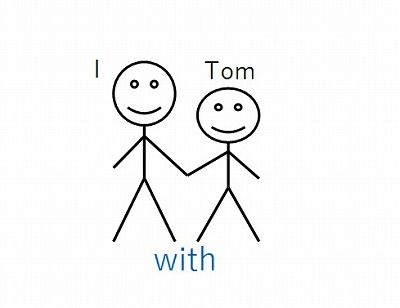 with Tom
